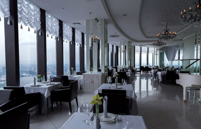 Vertical restaurant wedding