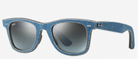 Статья: ОЧКИ RAY BAN WAYFARER В ДЖИНСОВОМ СТИЛЕ. Очки ray ban wayfarer из новой коллекции Denim Wayfarer и джинсы нашли друг друга. Теперь фанаты джинсового стиля могут дополнить свои наряды солнцезащитными очками в...
