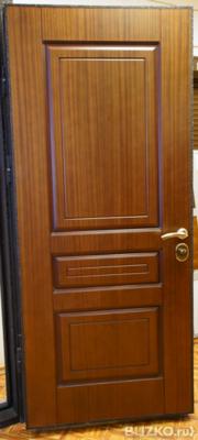 входная металлическая дверь в рыбацком