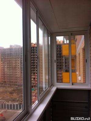 Холодное остекление балкона алюминиевым профилем недорого.