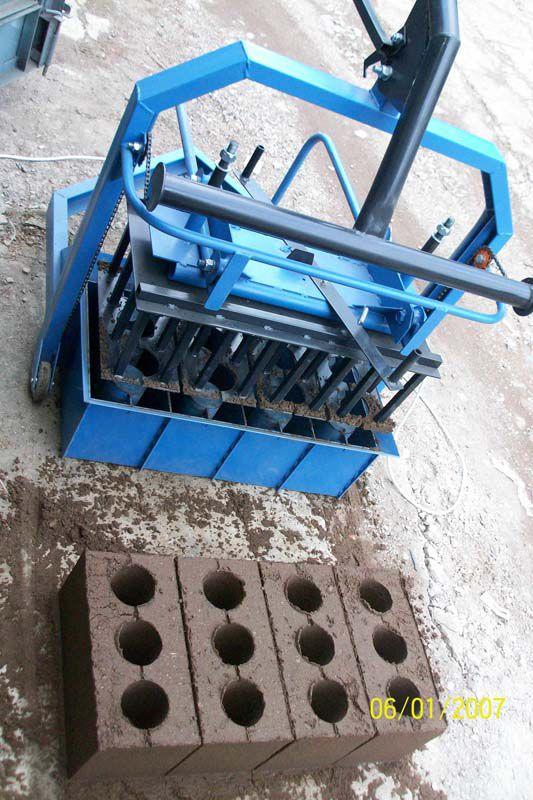 станок для изготовления бетонных блоков