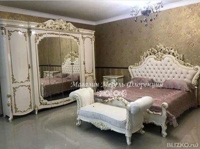 спальня венеция крем от компании мебель флоренция купить в