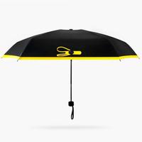 Карманный зонт Black Lemon (розовый)