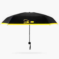 Карманный зонт Black Lemon (Желтый)