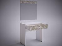 """Косметический стол """"СЕЛЕНА EVO""""  (Белый/фотопечать)"""